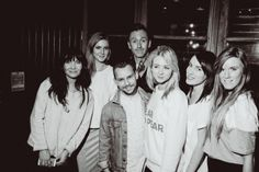 Team Marmalade at the Seek No Further Launch Party with stylist Tom Stubbs