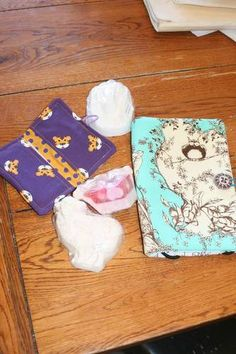 Kindle Cover, Business card holder and soaps by Missing Willow