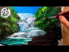 How to Paint Water - Waterfalls (1 of 19) - YouTube