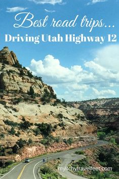 Drive Utah Highway 12 Scenic Byway for one of the best U.Travel through southern Utah on a geological road trip across ancient seabed remains to an alpine forest that tops out at ft. Us Road Trip, Family Road Trips, Road Trip Hacks, Alpine Forest, Road Trip Destinations, Honeymoon Destinations, Travel Activities, Travel Usa, Travel Tips