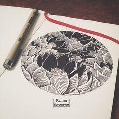Roma Severov @atramors Circle of lotus. ...Instagram photo | Websta (Webstagram)
