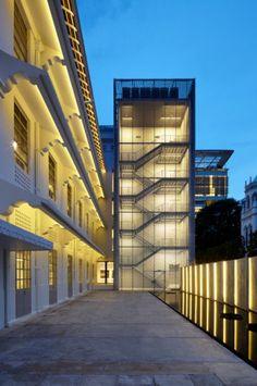 Singapore's National Design Centre, SCDA Architects Pte Ltd, world architecture news, architecture jobs