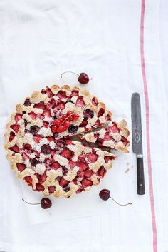 berry summer cake