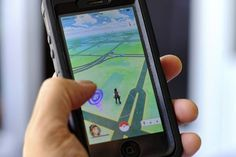"""Beware: """"Pokemon Go,"""" a new smartphone game based on cute Nintendo characters like Squirtle and Pikachu, can be harmful to your health. Pokemon Go, Pikachu, Lance Pokemon, First Pokemon, Pokemon Games, Pokemon Costumes, Charmander, King Of Fighters, Baddies"""