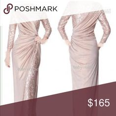 Blushing pink formal dress. Dress is too small for me. Bust:42 waist:35 Hips:45 China Dresses Wedding