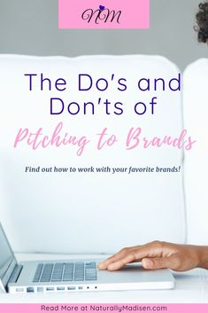 When you start pitching to brands, there are do's and don'ts you should keep in mind before sending your email.