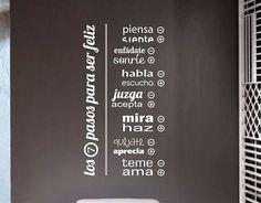 vinilos para pared frases - Buscar con Google