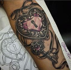 Locket tattoo
