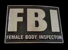 Inspectors of nude female