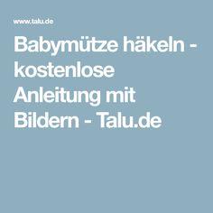 Babymütze häkeln - kostenlose Anleitung mit Bildern - Talu.de