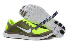 huge selection of 20dcd afb2a nike free 4.0 v3 femmes olive kaki blanc volt chaussures Nike Basketball  Shoes, Nike Lebron