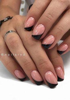 Cute Acrylic Nails, Acrylic Nail Designs, Nail Art Designs, Nails Design, French Nail Designs, Square Nail Designs, Short Nail Designs, Short Square Nails, Short Nails