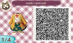 ACNL QR Code: Raincoat