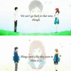 Aoharaido anime quote