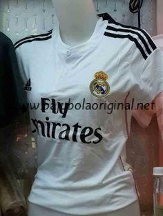 19fcc1fc9 Bajubolaoriginal.net jual Jersey Wanita Real Madrid Home 2014-2015 Real  Madrid