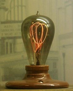 1908 Palace Theater Light Bulb, Stockyards Museum, Fort Worth Stockyards, Fort Worth, Texas