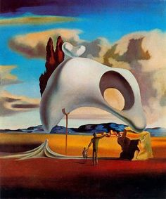 Dali, Salvador - 1934 Atavistic Vestiges after the Rain Salvador Dali Gemälde, Salvador Dali Paintings, Art Visionnaire, Surrealism Painting, Spanish Artists, Magritte, Oil Painting Reproductions, Art Moderne, Fantastic Art