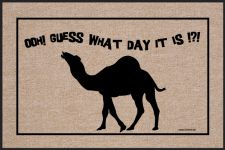 GUESS WHAT DAY CAMEL