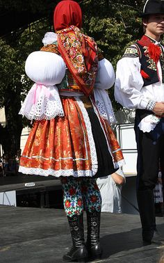 Folk Costume, Costumes, Parachute Dress, Art Populaire, Folk Festival, Textiles, My Heritage, Head To Toe, Beautiful Patterns