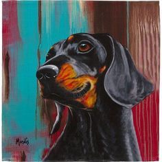 East Urban Home Dachshund Napkin funny dogs humor, funny cat and dog pictures, dog captions funny Urban Home Dachshund Napkin Arte Dachshund, Funny Dachshund, Dachshund Love, Daschund, Funny Dogs, Weenie Dogs, Scottish Terrier, Animal Paintings, Dog Art