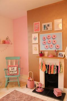Girls Bedroom Makeover Reveal! A Pink, Mint and Gold Haven