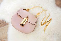 Chloe Drew Bag in Cement Pink.  #ChloeHandbag