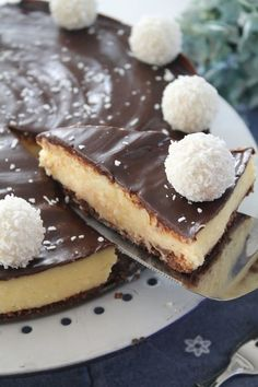 Schokoladen-Kokos-Torte ohne Backen |