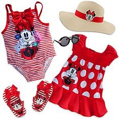 Minnie Mouse Swimsuit Collection for Baby
