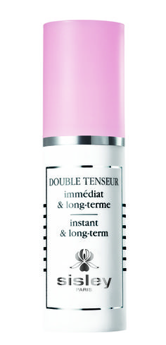 Sisley Research has created DOUBLE TENSEUR instant & long-term, a perfecting skin care product with dual benefits. Thanks to an immediate action on the skin's surface, the facial features are lifted; the skin is visibly smoothed and intensely moisturized. The face immediately appears fresher and more rested. Thanks to its long-term and in-depth action, the skin's firming capacity is strengthened. It restores resilience and tone to the skin and intensely revitalizes it. The skin feels denser…