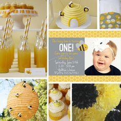#bee #birthday party ideas