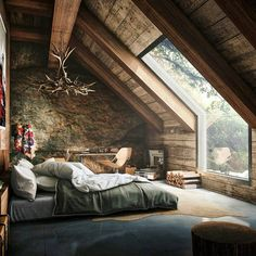 Log House Interior https://www.quick-garden.co.uk/residential-log-cabins.html