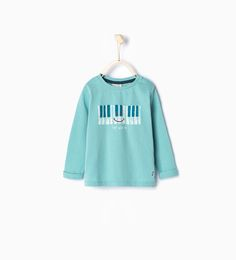 Piano T-shirt-Shop by Look-Baby boy (3 months - 3 years)-KIDS | ZARA United States 12-18 or 18-24