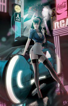 Rachel from Blade Runner.