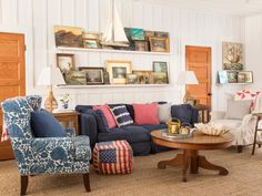 HGTV Magazine found this carefree beach cottage, loaded with the best deals under the sun.