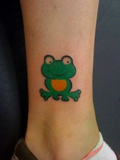 Image detail for -Hop Around with our Frog Tattoos