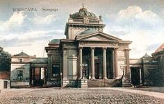 Wielka Synagoga. Dzisiaj Plac Bankowy