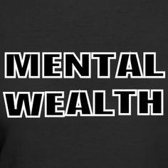 Mental Wealth - Women's 50/50 T-Shirt