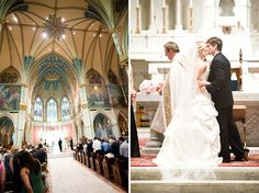 Married in the Cathedral of St. John the Baptist in Savannah, GA