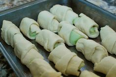 Cresent roll apple dumplings-making these today!!!