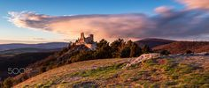 30 sec of sunset at Bathory castle - null Medieval Castle, Landscape Photos, Monument Valley, Facebook, Sunset, Nature, Travel, Instagram, Naturaleza