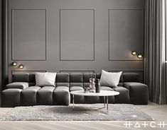 New bright interior design of flat in Ukraine for couple, with big comfortable kitchen and stylish living room. Apartment Interior Design, Modern Interior Design, Interior Architecture, Living Spaces, Living Rooms, Minimalist, Loft, Behance, House