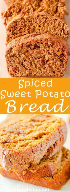Yes this savynaturalista quick bread is to good to be true! If you are looking for a low fat all natural sweet potato spiced bread recipe!