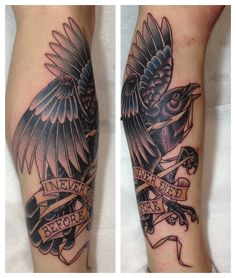 Sick new ink by Vlado from Timebomb!