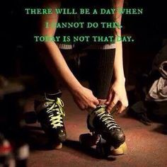 Not today not today! Keep pushing ladies and gents #rollerderby is where it is at. #peoriapush #rollerskating #skatehardturnleft by peoriapush