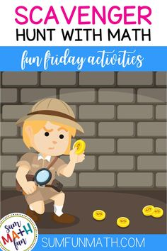 Add some sizzle to your Friday afternoons with these free scavenger hunt math activities. Solve the room with a TWIST for 2nd grade, 3rd grade, and 4th grade! Common Core aligned and math skill-based practice and review for place value, number bonds, and problem solving. Math Skills, Math Lessons, Maths Sums, Subitizing Activities, Place Value Activities, Math Problem Solving, Number Bonds, Guided Practice, Math Notebooks