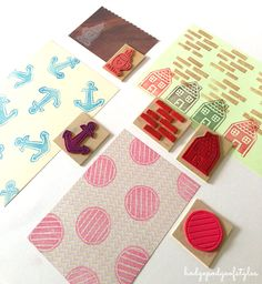 DIY - Craft Foam Stamps