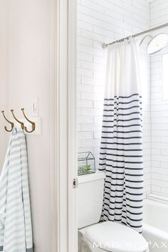 how to design a timeless bathroom: beautiful white tile