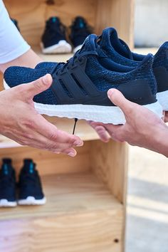 Every second breath we breathe comes from the oceans. Lace into adidas x Parley Ultraboost to experience our most responsive cushioning ever combined with the progressive eco – innovation of Parley Ocean Plastic Primeknit upper. Best Mens Fashion, Mens Fashion Shoes, Sneakers Fashion, Womens Fashion, Zara Shoes, Men's Shoes, Shoes Men, Basket Running, Adidas Three Stripes