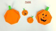 Őszi dekorációs ötletek papírból – Origami