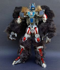 Custom Transformers Beast Wars Optimus Primal